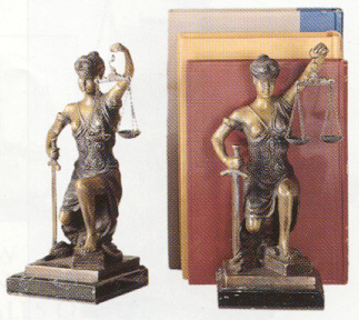 Bronze Lady Justice Bookends.jpg (59815 bytes)